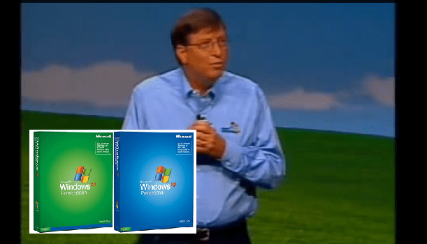 Watch Bill Gates Launching Windows XP Video and End of MS-DOS Era