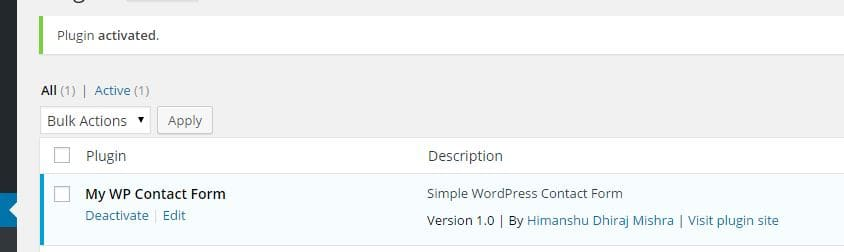 Tutorial WordPress plugin development in 5 minute