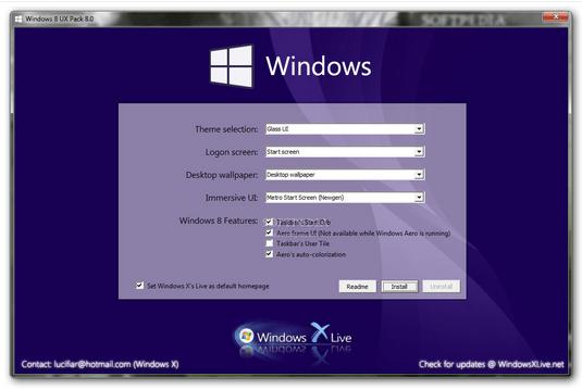 Convert Windows 7 Looks Like Windows 8.1