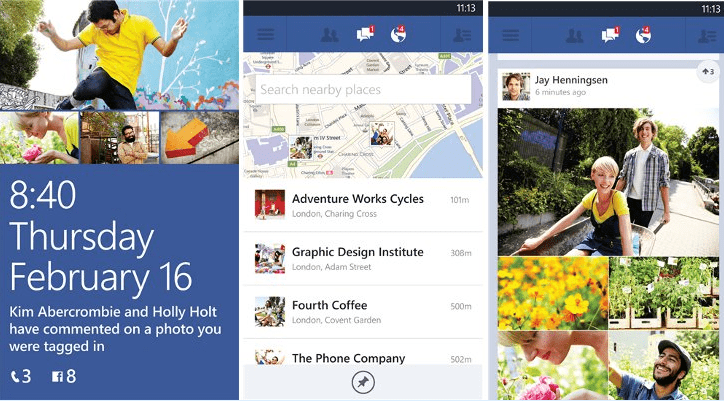 Facebook Apps for Windows Phone 7, 8 Now Available to Download