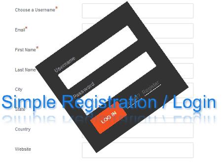Easy Registration System For WordPress