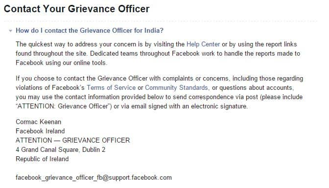 Recover disabled facebook account associated with old contact no.