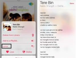 Lyrics not showing up on iPhone iOS 10 solved